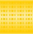 yellow geometric pattern background vector image