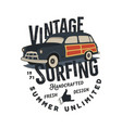 vintage hand drawn tee print design with vector image