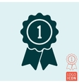 Award icon isolated vector image vector image