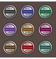 Best beer labels vector image vector image