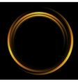 Bright abstract circle logo background vector image vector image