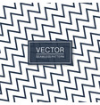 diagonal seamless zigzag simple pattern - blue and vector image vector image