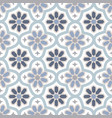 hand drawn stars shaped moroccan seamless pattern vector image vector image