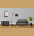 modern living room interior vector image