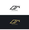 modern real estate business logo design template vector image vector image