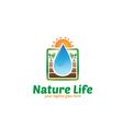 Nature Life Logo vector image vector image