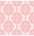 pink onamental seamless pattern vector image vector image