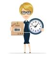 Women in Business vector image vector image