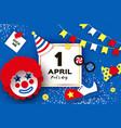 1 april fools day kick me prank paper sticker