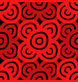 background - black red vector image vector image