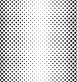 Black and white star pattern background vector image vector image
