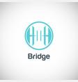 bridge company logo vector image