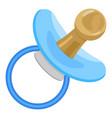 kid pacifier icon cartoon style vector image vector image