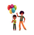 preschooler and teenage black african american vector image vector image