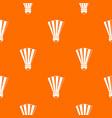 shuttlecock pattern seamless vector image vector image