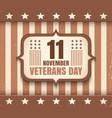 american veterans day vector image vector image