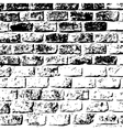 design element Ancient brick wall texture vector image vector image