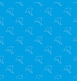 dolphin pattern seamless blue vector image