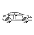 familiar car vehicle vector image vector image