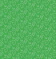 green branches and leaves seamless pattern vector image vector image