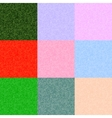 Pixel backgrounds set of different colors