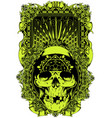 rock hard vector image vector image