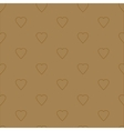 Simple and cute hearts seamless pattern vector image vector image