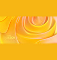 soft yellow backdrop abstract background vector image vector image