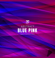 template blue and pink triangles shapes vector image