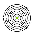 ways to labyrinth maze game vector image