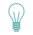 Light lamp sign icon electricity idea energy power vector image