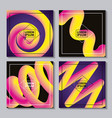 abstract covers background vector image vector image