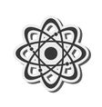 atom structure icon vector image vector image