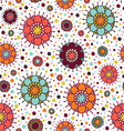 background with circles and dots vector image vector image
