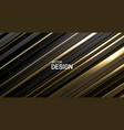 black and golden surface abstract background vector image vector image