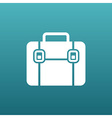 Briefcase icon Flat design vector image vector image