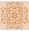 Curls and fire flowers Ornament Pattern vector image vector image
