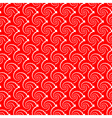 Design seamless red helix diagonal background vector image vector image