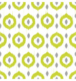 Ikat circles ethnic seamless pattern vector image vector image