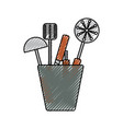 ladle illsutration vector image vector image