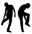 leg pain vector image