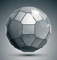 Plastic pixel grayscale dimensional sphere created