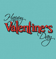retro valentines day background 1512 vector image