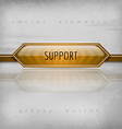 Support Button vector image