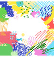 colorful artistic creative background vector image