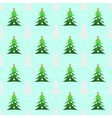 Seamless christmas trees background vector image vector image