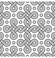 viking seamless pattern - engraved gold - rings vector image vector image