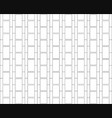 white h alphabet pattern background vector image