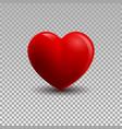 3d a heart vector image