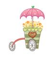 icon cart vector image vector image
